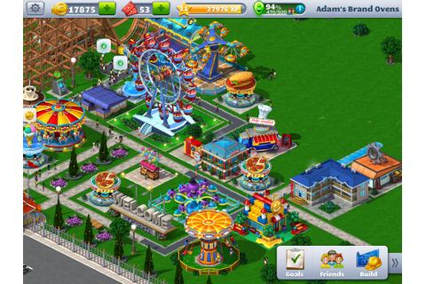 Game Review: Rollercoaster Tycoon 4 (iPad) | Adam Likes To ...