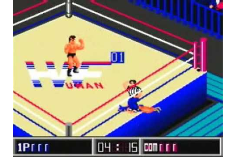 Thunder Pro Wrestling Retsuden Gameplay Video - YouTube