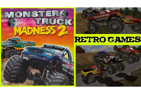 Monster Truck Madness 2 Gameplay Oldskool PC HD - YouTube