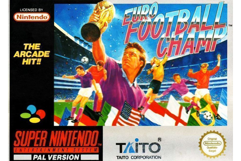 Euro Football Champ ROM - Super Nintendo (SNES) | Emulator ...
