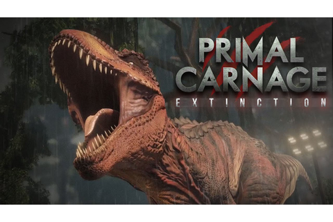 Primal Carnage: Extinction Reveal - YouTube