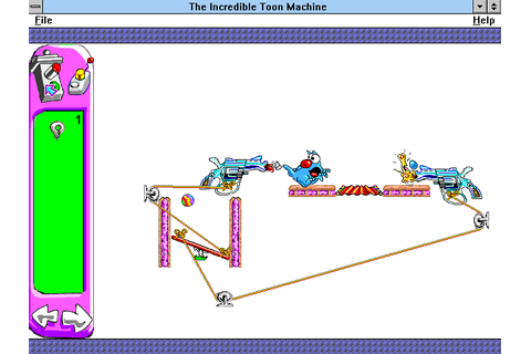 The Incredible Toon Machine Screenshots for Windows 3.x ...