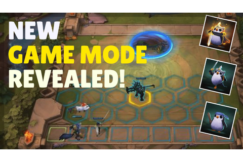 A New Game Mode Called Teamfight Tactics Is Coming In ...