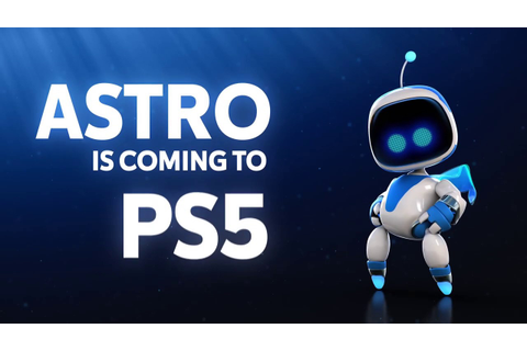 ASTRO'S PLAYROOM (PS5) GAMEPLAY REVEAL TRAILER PLAYSTATION ...