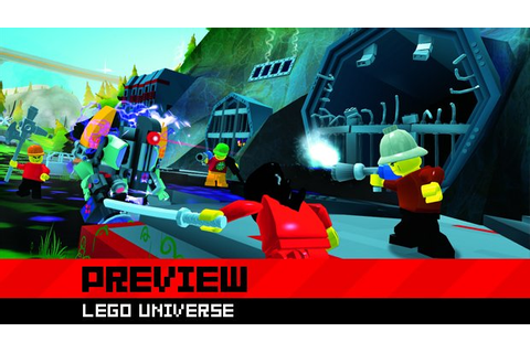 Brick by brick in a whole new world: LEGO Universe