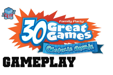 COTV - Family Party 30 Great Games Obstacle Arcade ...