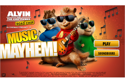 Fun Alvin and the Chipmunks Games to Play HERE!!!