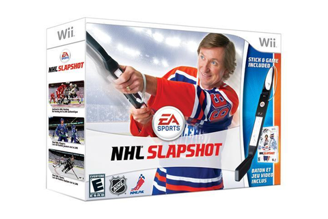 NHL Slapshot Bundle Wii Game - Newegg.com