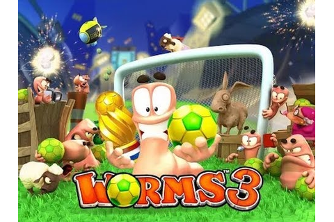 Worms 3 - Mobile Game GamePlay Let's Play - YouTube