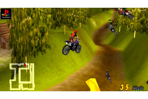 Motocross Mania - Gameplay PSX / PS1 / PS One / HD 720P ...
