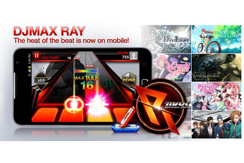 Android HVGA Group: Game: DJMAX RAY 1.1.8 APK + DATA ...