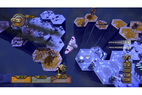 Greed Corp turn-based strategy game announced for PSN ...