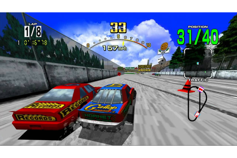 Daytona USA Review - Xbox 360 - YouTube