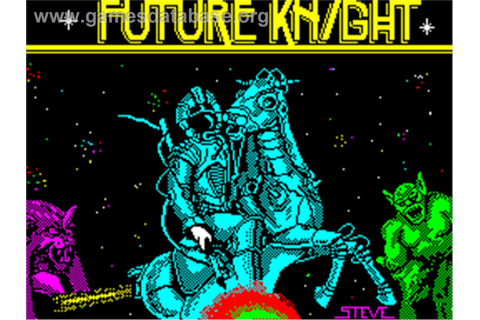 Future Knight - Sinclair ZX Spectrum - Games Database