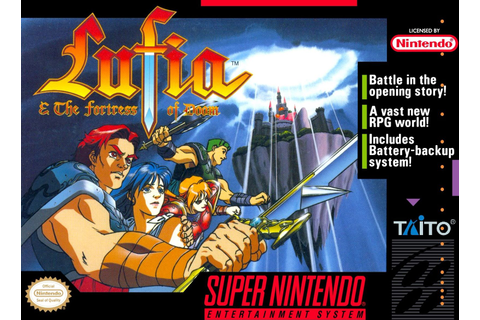 Lufia and the Fortress of Doom SNES Super Nintendo