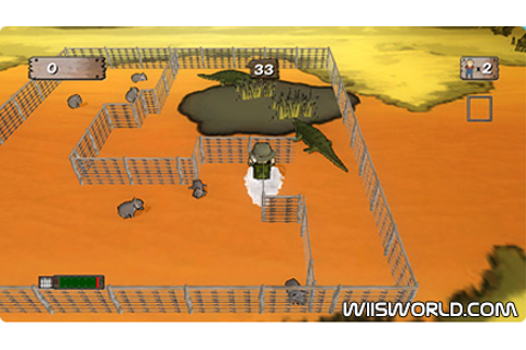 Critter Round-Up on WiiWare