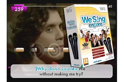 We Sing Encore Nintendo Wii review | Den of Geek