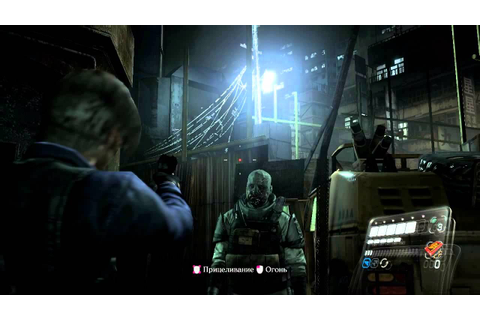 Resident Evil 6 PC GamePlay HD 720p - YouTube