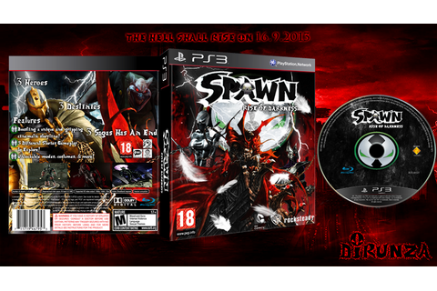 PS3- Spawn: Rise Of Darkness by djrunza on DeviantArt