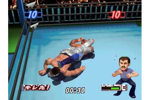 Virtual Pro Wrestling 2: Han's Cross Heel Hold - YouTube