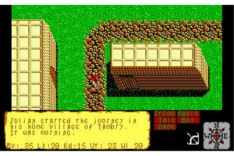 Faery Tale Adventure, The Download (1989 Adventure Game)