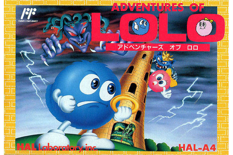 Adventures of Lolo (Japan) — StrategyWiki, the video game ...