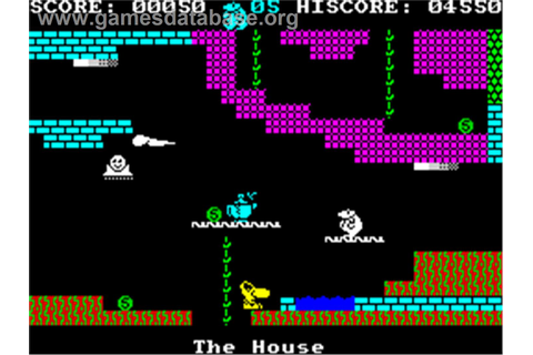 Monty on the Run - Sinclair ZX Spectrum - Games Database
