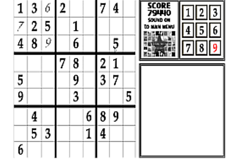 Play Sudoku Challenge online for Free - POG.COM