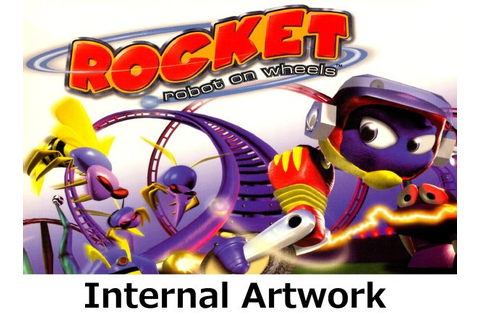 Rocket: Robot on Wheels N64 video game case | Game Case ...