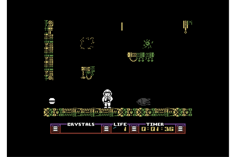 Juegos incluidos en Commodore 64 Mini: The Arc of Yesod