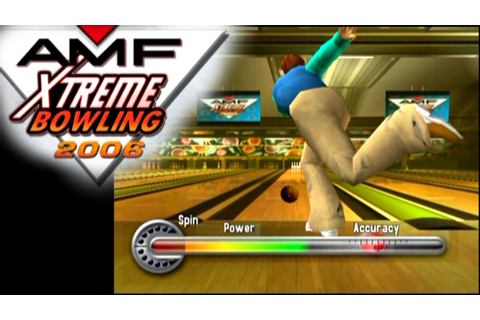 AMF Xtreme Bowling 2006 ... (PS2) - YouTube