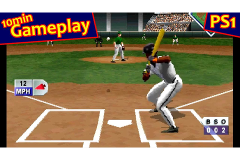 Triple Play 97 ... (PS1) 60fps - YouTube