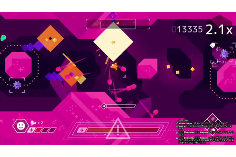 【Nintendo Switch】本日発売のSTG「Graceful Explosion Machine」を早速 ...
