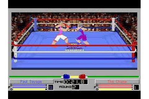 4D Sports Boxing (DOS) - Paul Savage vs The Champ - YouTube
