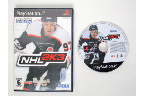 NHL 2K3 game for Sony PlayStation 2 | The Game Guy