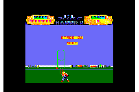 Download Space Harrier - My Abandonware