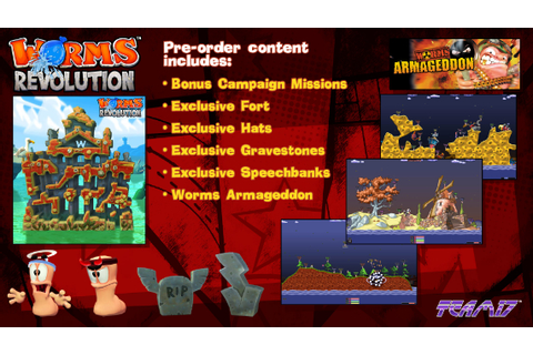 Final Worms Revolution in-game video | Invision Game Community