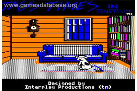 Tass Times in Tonetown - Apple II - Games Database