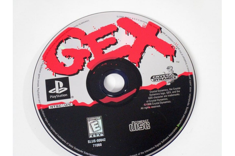 Gex Enter the Gecko game for Sony Playstation PS1 PSX ...