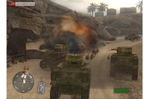 Test CoD 2 : Big Red One