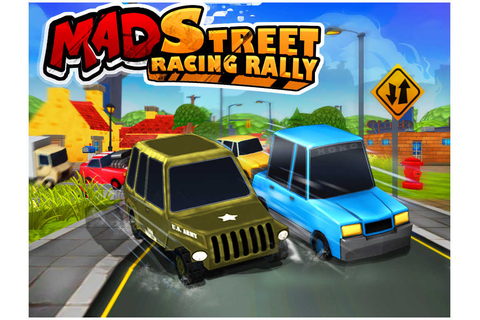 App Shopper: Mad Street Racing Rally (Games)