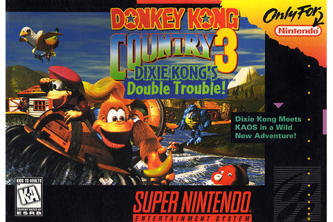 SuperPhillip Central: Donkey Kong Country 3: Dixie Kong's ...