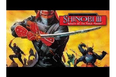 Shinobi 3 Return Of The Ninja Master iPhone App Review ...