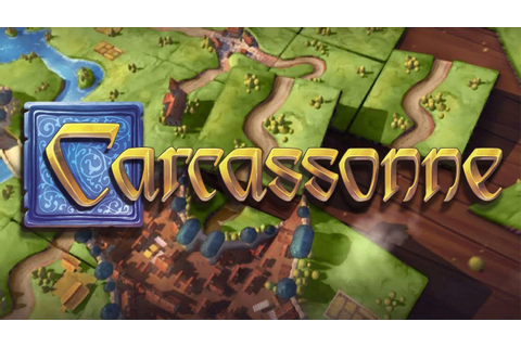 Carcassonne - The Board Game of Tiles & Tactics! (4 Player ...