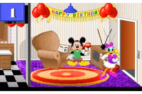 Mickey's 123: The Big Surprise Party . Прохождение Mickey ...