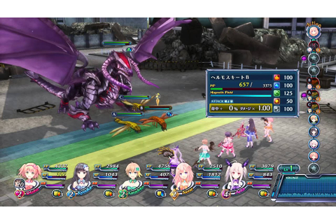 [PS4] OMEGA QUINTET GAMEPLAY - BATTLE - JRPG - JAPANESE ...