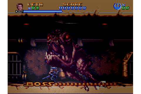 Super Star Wars: Return of the Jedi - SNES - Alvanista