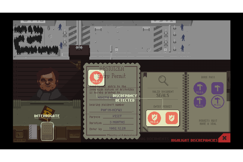 Papers, Please (2013) - Game details | Adventure Gamers