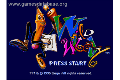 Wild Woody - Sega CD - Games Database