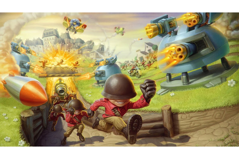 Fieldrunners 2 - Casual game by Subatomic Studios, LLC ...